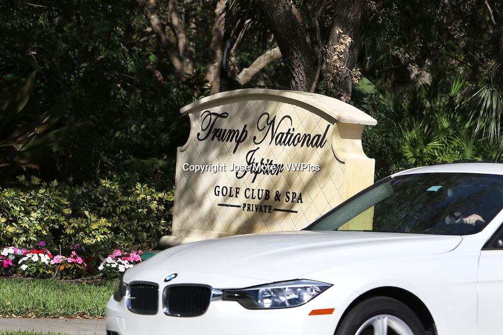Trump National Golf Club and Spa in Jupiter. The club is 35 minute drive north of his winter White House Mar-a-Lago in Palm Beach.