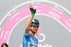 May 25, 2018 - Venaria Reale, Turin, Italy - The cyclist Giulio Ciccone of Bardiani CSF team before the start of the 19 stage Venaria Reale- Bardonecchia of Giro d'Italia 2018 on May 25, 2018 in Venaria Reale, Turin, Italy. (Credit Image: © Massimiliano Ferraro/NurPhoto via ZUMA Press)