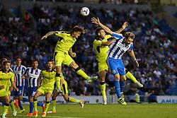 Danny Ward of Rotherham United heads the ball away - Mandatory by-line: Jason Brown/JMP - 16/08/2016 - FOOTBALL - Amex Stadium - Brighton, England - Brighton & Hove Albion v Rotherham United - Sky Bet Championship