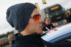 08.02.2014, Hagfors, Karlstad, SWE, FIA, WRC, Schweden Rallye, Tag 4, im Bild Thierry Neuville (Hyundai Motorsport/i20 WRC), Portrait, seitlich // during Day 4 of the FIA WRC Sweden Rally at the Hagfors in Karlstad, Sweden on 2014/02/08. EXPA Pictures © 2014, PhotoCredit: EXPA/ Eibner-Pressefoto/ Bermel<br /> <br /> *****ATTENTION - OUT of GER*****