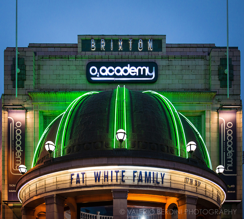 Fat White Family at the Brixton Academy, their biggest show to date. 17 September 2016, London.