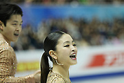 Maia Shibutani and Alex Shibutani from Italy during the ISU Junior and Senior Grand Prix of Figure Skating Final at Nippon Gaishi Hall, Nagoya, Japan on 7 December 2017. Photo by Myriam Cawston.