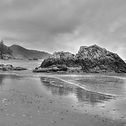 Whaleshead - Oregon Coast - HDR - Black & White