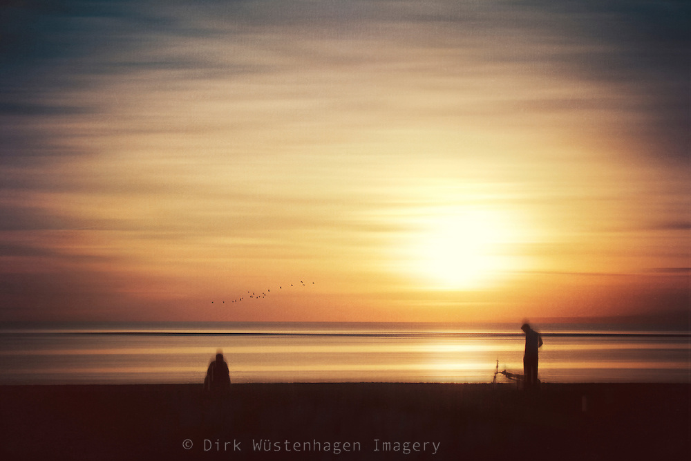 Abstract beach scene in Bali at sunset<br /> Prints: https://society6.com/product/summer-mood-beach-sunset_print#1=45