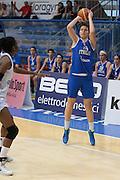 Pomezia, 17/05/2015<br /> Basket, Nazionale italiana Femminile <br /> Amichevole <br /> Italia - Gran Bretagna<br /> Nella foto: Cecilia Zandalasini<br /> Foto Ciamillo