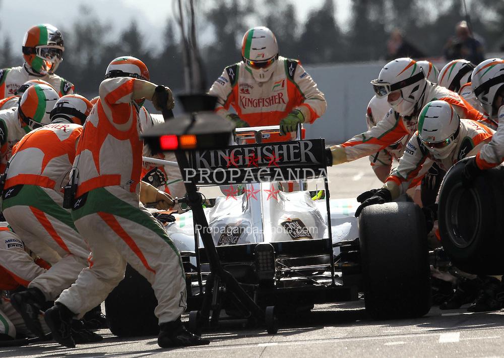 09.03.2011, Circuit de Catalunya, Barcelona, ESP, Formel 1 Test 4 2011,  im Bild Paul di Resta (GBR), Force India .EXPA Pictures © 2011, PhotoCredit: EXPA/ nph/  Poleposition.at       ****** only for AUT ans SLO *******