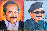 Painted walls. Chennai.