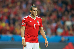 LILLE, FRANCE - Friday, July 1, 2016: Wales' Gareth Bale in action against Belgium during the UEFA Euro 2016 Championship Quarter-Final match at the Stade Pierre Mauroy. (Pic by Paul Greenwood/Propaganda)