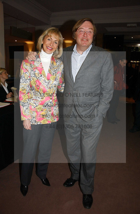 DAVID MELLOR and PENNY, VISCOUNTESS COBHAM at a private view of the forthcoming sale 'From the Collection of King George 1 of The Hellenes', held at Christie's. King Street, London on 22nd January 2007.<br /><br />NON EXCLUSIVE - WORLD RIGHTS