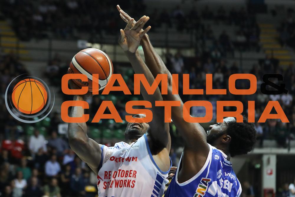 Gani Lawal<br /> Red October Cantu' Banco di Sardegna Sassari<br /> LegaBasket 2016/2017<br /> Desio 23/10/2016<br /> Foto Ciamillo-Castoria<br /> Provvisorio