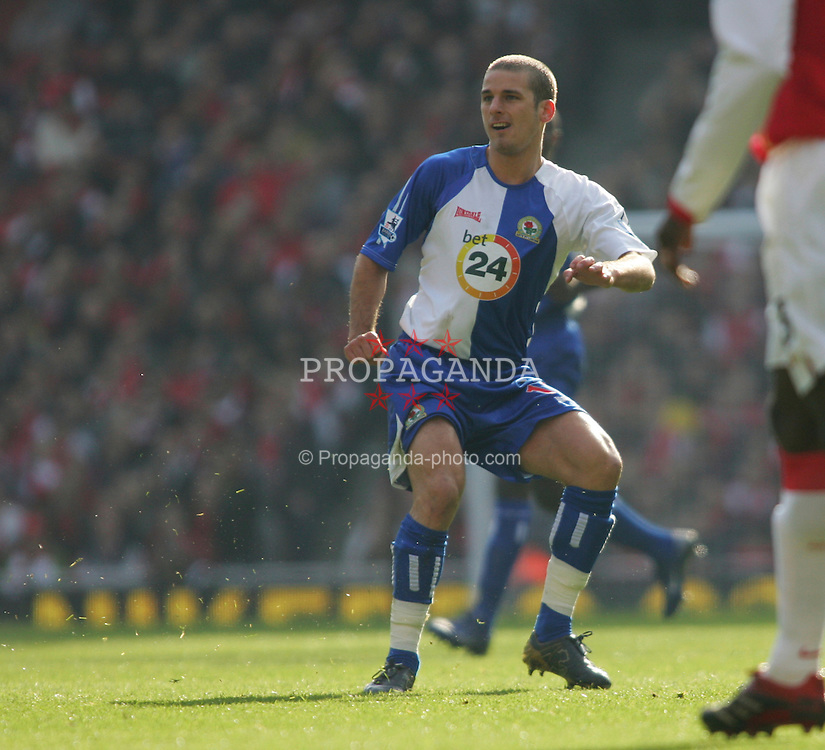 London, England - Saturday, February 17, 2007: Blackburn Rovers' David Bentley in action against Arsenal during the FA Cup 5th round match at the Emirates Stadium. (Pic by Chris Ratcliffe/Propaganda)