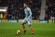 Chelsea Forward, Eden Hazard (10) during the Premier League match between Bournemouth and Chelsea at the Vitality Stadium, Bournemouth, England on 30 January 2019.