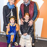 NLD/Amsterdam/20161126 - Studio 100 Winterfestival, Casper Burgi en partner Barbara Sander