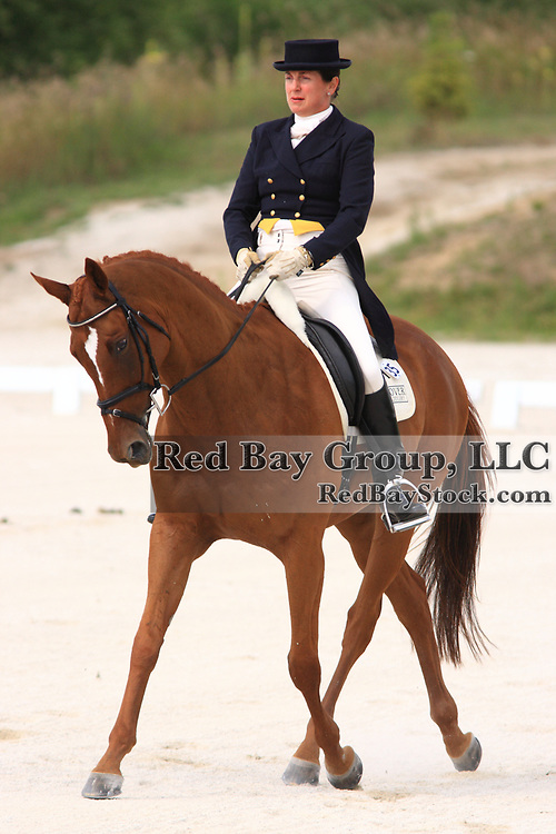 Corinne Ashton and Dobbin at the 2009 Wits End Horse Trials and HSBC FEI World Cup Qualifier in Mansfield, Ontario.
