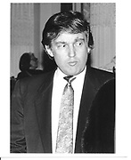 Donald Trump. New York. 1989.  © Copyright Photograph by Dafydd Jones 66 Stockwell Park Rd. London SW9 0DA Tel 020 7733 0108 www.dafjones.com