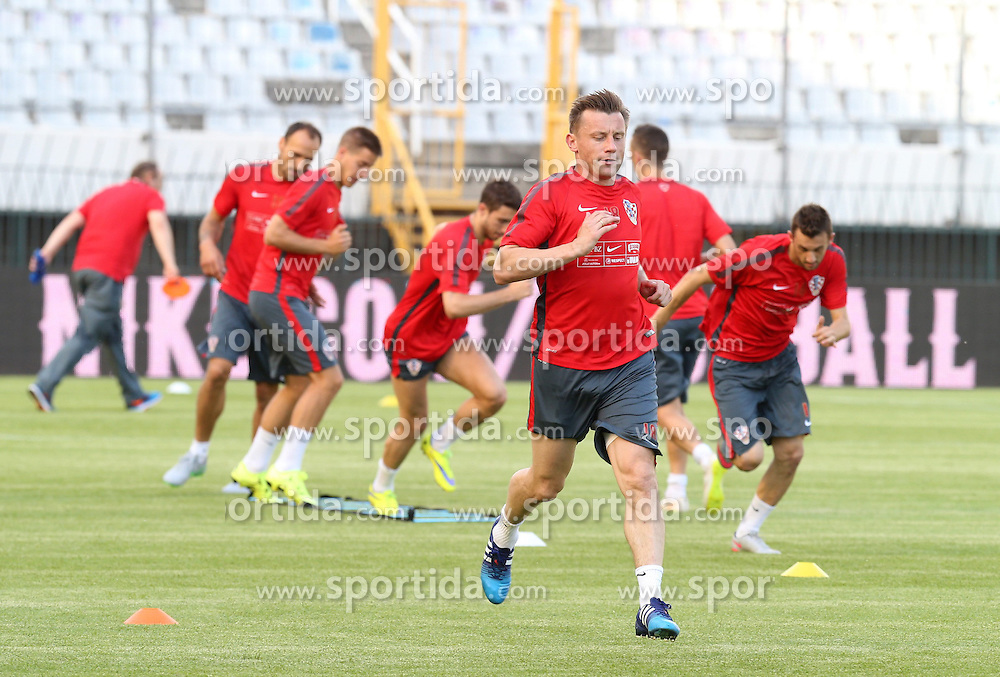 11.06.2015, Stadion Poljud, Split, CRO, UEFA Euro 2016 Qualifikation, Kroatien vs Italien, Gruppe H, Training Kroatien, im Bild Ivica Olic // during trainig of Team Croatia prior to the UEFA EURO 2016 qualifier group H match between Croatia and and Italy at the Stadion Poljud in Split, Croatia on 2015/06/11. EXPA Pictures &copy; 2015, PhotoCredit: EXPA/ Pixsell/ Ivo Cagalj<br /> <br /> *****ATTENTION - for AUT, SLO, SUI, SWE, ITA, FRA only*****