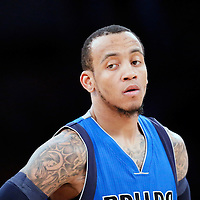 12 April 2014: Dallas Mavericks guard Monta Ellis (11) is seen  during the Dallas Mavericks 120-106 victory over the Los Angeles Lakers, at the Staples Center, Los Angeles, California, USA.