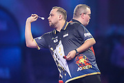 Jose Justicia during the PDC William Hill World Darts Championship at Alexandra Palace, London, United Kingdom on 17 December 2019.