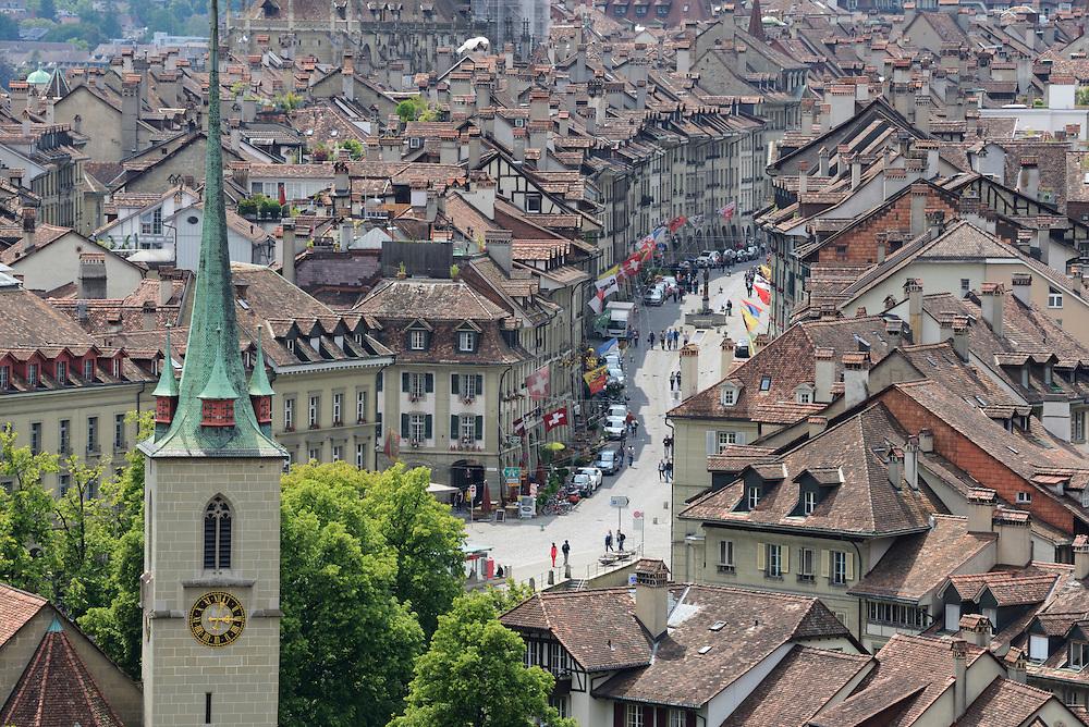Europe; Switzerland; Bern, view, city, old town, swiss, urban,vista
