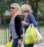 27.AUGUST.2009. LONDON<br /> <br /> CHELSY DAVY SHOPPING IN RYMANS STAIONARY SHOP ON THE KINGS ROAD ROAD AND THEN WENT TO MARKS &amp; SPENCERS TO GET SOME SHOPPING WITH HER MUM BEFORE WALKING HOME MAKING FUNNY FACES.<br /> <br /> BYLINE: EDBIMAGEARCHIVE.COM<br /> <br /> *THIS IMAGE IS STRICTLY FOR UK NEWSPAPERS AND MAGAZINES ONLY*<br /> *FOR WORLD WIDE SALES AND WEB USE PLEASE CONTACT EDBIMAGEARCHIVE - 0208 954 5968*