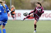 Fotball<br /> 19.10.2013<br /> Førstedivisjon kvinner<br /> Grei v Sarpsborg 08<br /> Foto: Morten Olsen, Digitalsport<br /> <br /> Rikke Bjørnland (7) - Sarpsborg