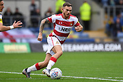 Doncaster Rovers forward Jon Taylor (10) sprints forward with the ball during the EFL Sky Bet League 1 match between Oxford United and Doncaster Rovers at the Kassam Stadium, Oxford, England on 12 October 2019.