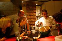Alain Ducasse Cooking Classes, Paris<br /> <br /> <br /> Chef Fabien FAGE