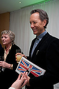 JOAN WASHINGTON; RICHARD E. GRANT, English National Ballet Beyond Ballets Russes at the London Coliseum opening night party at the St Martins Lane Hote, Londonl . 22 March 2012.