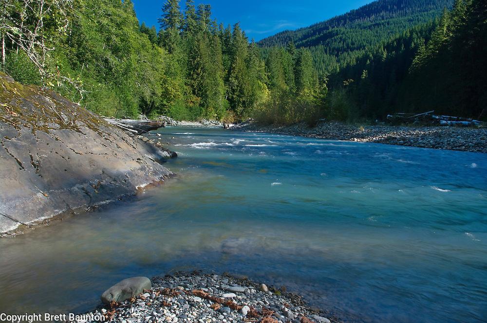 Nooksack River, Mt. Baker National Forest, Washington State