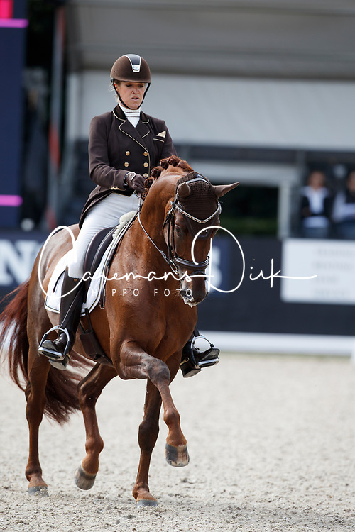 Pauluis Larissa, BEL, First Step Valentin<br /> Longines FEI/WBFSH World Breeding Dressage Championships for Young Horses - Ermelo 2017<br /> &copy; Hippo Foto - Dirk Caremans<br /> 04/08/2017