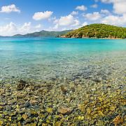Coral Bay on St. John, US Virgin Islands.