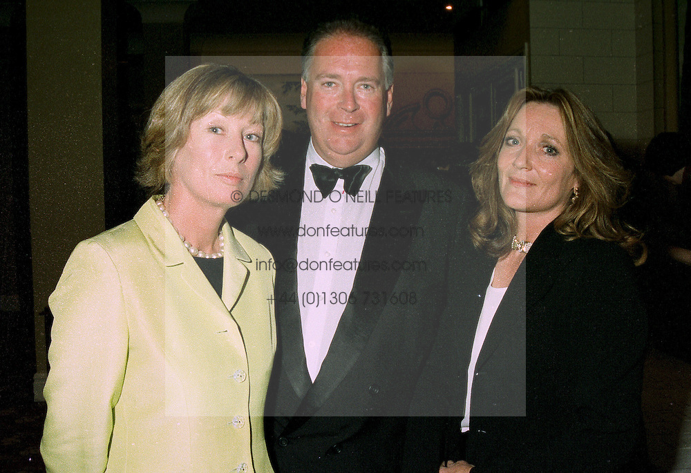 Left to right, LADY & LORD HESKETH and LEONORA, COUNTESS OF LICHFIELD, at a reception in London on 12th June 1997.LZH 96