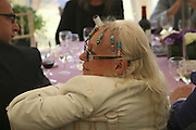 Mrs. Rolf Harris Cartier Style et Luxe champagne reception and lunch at the  the Goodwood festival of Speed. 9 July 2006. -DO NOT ARCHIVE-© Copyright Photograph by Dafydd Jones 66 Stockwell Park Rd. London SW9 0DA Tel 020 7733 0108 www.dafjones.com