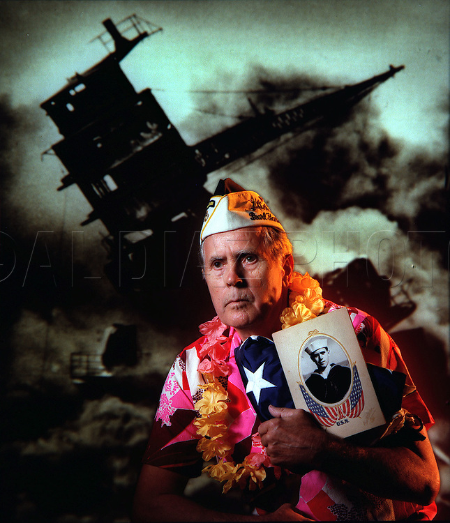 Clyde Combs was a seaman first class on the  Battleship USS Arizona. In the most devastating blow of the attack on Pearl Harbor, a Japanese bomb destroyed the battleship and killed 1,177 of the 1,375 men aboard on December 7, 1941.