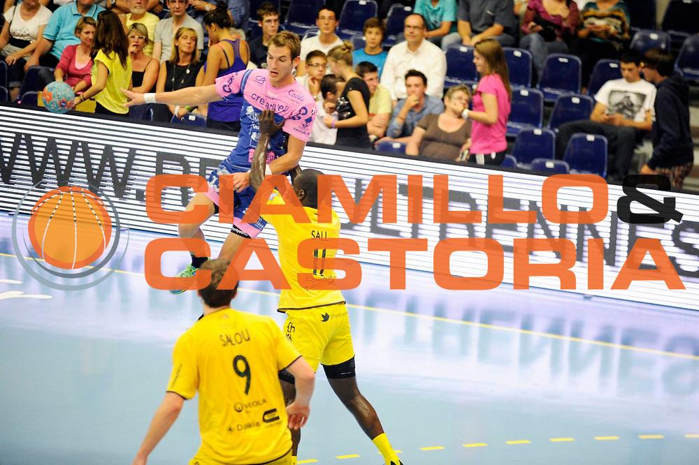 DESCRIZIONE : Handball Tournoi de Cesson Homme<br /> GIOCATORE : SUTY Jeremy<br /> SQUADRA : Cesson<br /> EVENTO : Tournoi de cesson<br /> GARA : Cesson Tremblaye<br /> DATA : 06 09 2012<br /> CATEGORIA : Handball Homme<br /> SPORT : Handball<br /> AUTORE : JF Molliere <br /> Galleria : France Hand 2012-2013 Action<br /> Fotonotizia : Tournoi de Cesson Homme<br /> Predefinita :