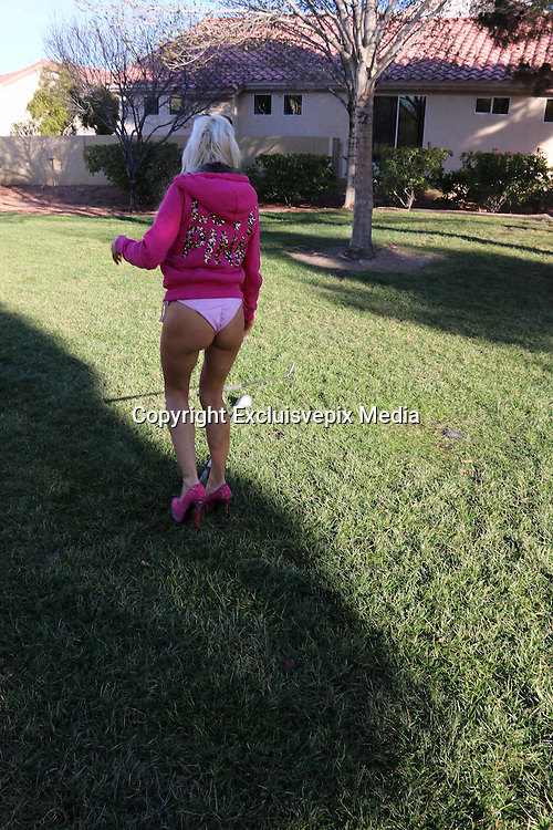 Exclusive<br /> Reality star Angelique &quot;Frenchy&quot; Morgan hits the golf course in a pink bikini<br /> <br /> Caption: Reality Reality star Angelique &quot;Frenchy&quot; Morgan has been very busy of late but that didn't stop her from taking up a new sport and playing a round of golf at a local Las Vegas golf course.  &quot;Frenchy&quot; has been traveling between Las Vegas, Los Angeles, and London over the past several months.  After being last years Celebrity Big Brother's biggest troublemaker she has recorded a hit song called &quot;I just wanna get naked&quot;, made an appearance on Celebrity Big Brothers Bit On the Side, and has been working on several other new projects.  It is safe to safe Frenchy was the Hottest thing on the golf course today.<br /> &copy;Joel Ginsburg/Excluisvepix Media