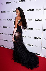 Winnie Harlow attending the Glamour Women of the Year Awards 2017 in association with Next, Berkeley Square Gardens, London. PRESS ASSOCIATION Photo. Picture date: Tuesday June 6, 2017. Photo credit should read: Ian West/PA Wire