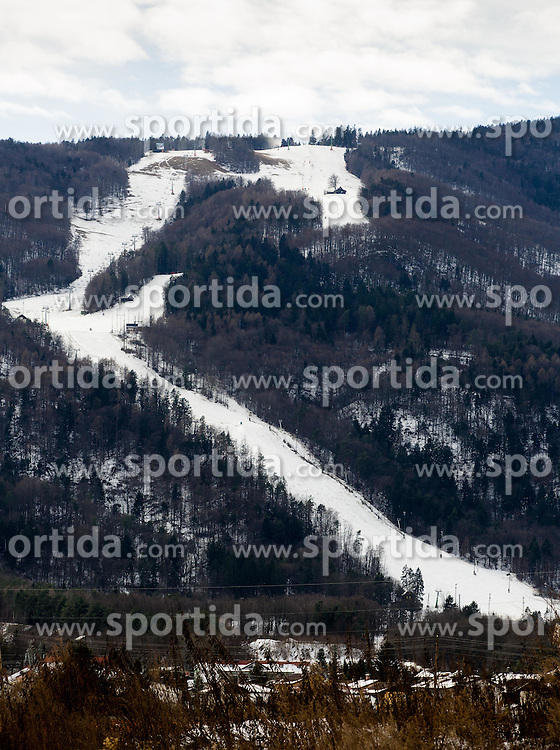 Course of Alpine Ski World Cup Ladies races named Golden Fox, on January 5, 2015 in Pohorje, Maribor, Slovenia.  Photo by Vid Ponikvar / Sportida