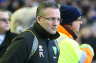 Picture by Paul Chesterton/Focus Images Ltd.  07904 640267.17/12/11.Norwich Manager Paul Lambert before the Barclays Premier League match at Goodison Park Stadium, Liverpool.