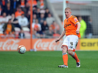 Luke Chambers of Nottingham Forest<br /> Blackpool vs Nottingham Forest<br /> Coca Cola Championship, Bloomfield Road, Blackpool, UK<br /> 25/04/2009. Credit Colorsport/Dan Rowley