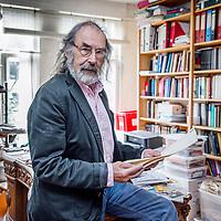 Nederland, Amsterdam, 9 juni 2017.<br />Ulli d'oliveira is een Nederlands jurist en letterkundige<br /><br /><br /><br />Foto: Jean-Pierre Jans
