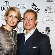 NLD/Amsterdam/20131118 - Inloop Launch Juwelry by LouLou, Anouk Smulders en Rudolph Strickwold
