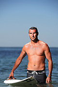 TWEED HEADS, AUSTRALIA - NOVEMBER 15:  2012 ASP World Champion Joel Parkinson poses during a portrait shoot at Duranbah Beach on November 15, 2013 in Tweed Heads, Australia.  (Photo by Matt Roberts/Getty Images) *** Local Caption *** Joel Parkinson