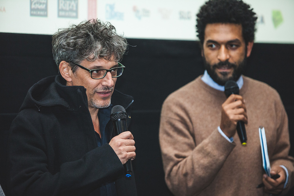 "Andalusian anthropologist and documentary filmmaker, Miguel Angel Rosales (""GURUMBÉ: AFRO-ANDALUSIAN MEMORIES"") during The Royal African Society's Annual Film Festival 2016. London, Tuesday 1 November 2016. (Photos/Ivan Gonzalez)"