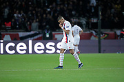 Kylian Mbappe (PSG) left the game without any goal scored during the UEFA Champions League, Group A football match between Paris Saint-Germain and Club Brugge on November 6, 2019 at Parc des Princes stadium in Paris, France - Photo Stephane Allaman / ProSportsImages / DPPI
