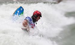 18.06.2010, Drauwalze, Lienz, AUT, ECA Kayak Freestyle European Championships, im Bild Feature Fresstyle Kajak, Devred Maxime, FRA, Men, #55, EXPA Pictures © 2010, PhotoCredit: EXPA/ J. Feichter / SPORTIDA PHOTO AGENCY
