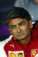 Marco Mattiacci (ITA) Ferrari Team Principal in the FIA Press Conference.<br /> Italian Grand Prix, Friday 5th September 2014. Monza Italy.