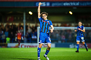 Rochdale Oliver Rathbone during the EFL Sky Bet League 1 match between Rochdale and Sunderland at the Crown Oil Arena, Rochdale, England on 20 August 2019.