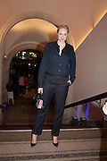 GWENDOLINE CHRISTIE;  Opening of Bailey's Stardust - Exhibition - National Portrait Gallery London. 3 February 2014