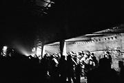 Crowd Dancing, 'Krampus Karnival' Christmas party in Bristol, December 2016